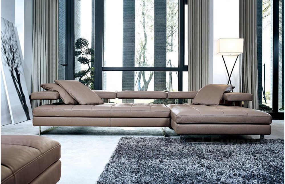 Sofas Arsizio Leather Chaise Lounge Sofa Sofa