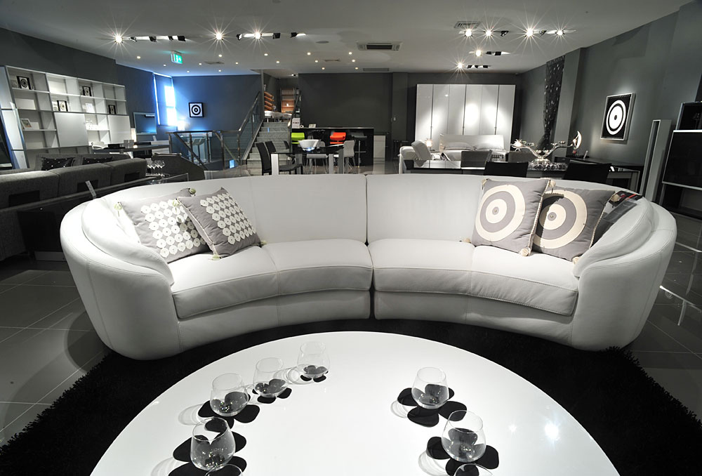 Sofas Rusco I Leather Lounge Suite Sofa Sofa
