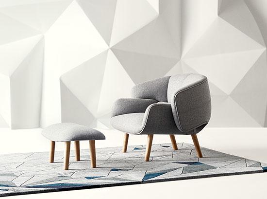 Fusion modern armchair