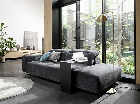 Hampton Scandinavian sofa - grey